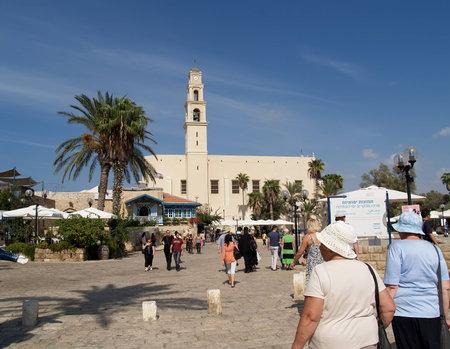 yaffo: Kdumim Square in Yaffo, Israel