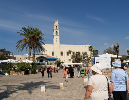 yaffo: Square Kdumim en Yaffo, Israel