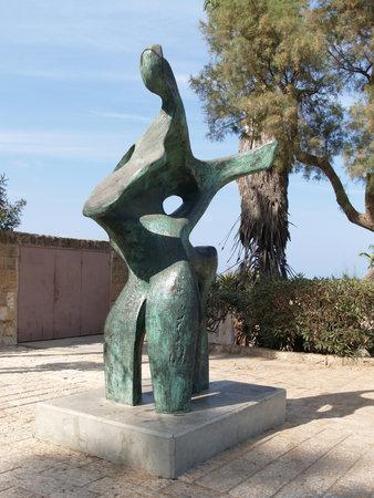 yaffo: Israel Escultura moderna en Yaffo