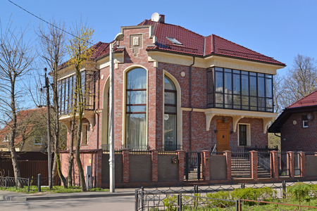 Modern country house in Kaliningrad