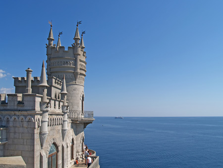 Crimea  View of the Swallow s nest photo