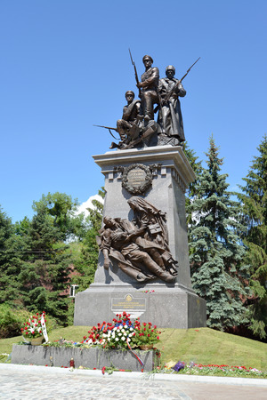 Kaliningrad  Monument to the Russian soldiers who have fallen in days of World War I Editorial