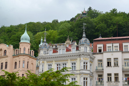 karlovy: Type of the resort of Karlovy Vary. Czech Republic