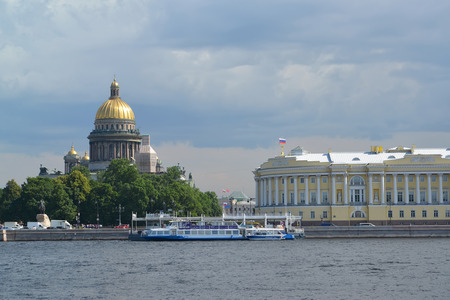 synod: St. Petersburg.  View of Angliyskaya Embankment