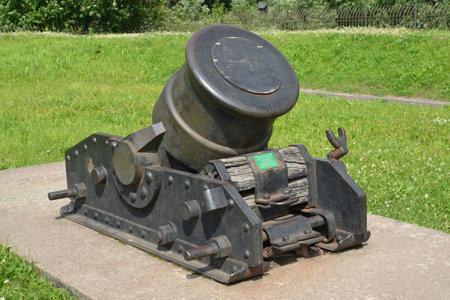 serf: 334 mm mortier de serf du XIX si�cle (�chantillon de 1838)