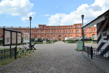 troops: Courtyard and building of the Military and historical museum of artillery, engineering troops and troops of communication. St. Petersburg