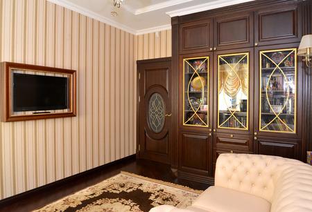 classics: Interior of a house office, modern classics Stock Photo
