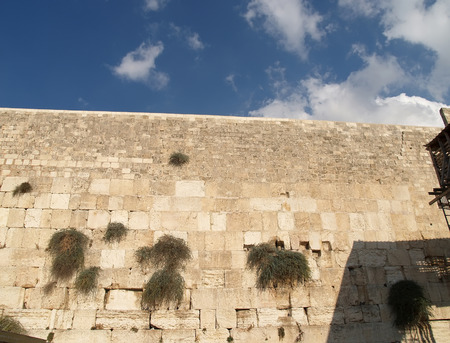 Wailing Wall in Jerusalem, Israel