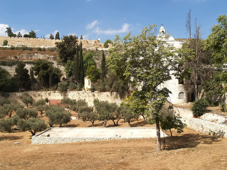 serf: View of the Temple mountain. Jerusalem, Israel