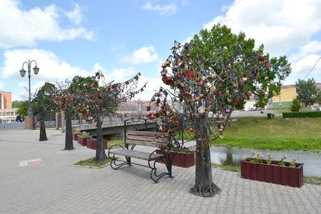 gusev: Un albero felicit� sul terrapieno in Gusev