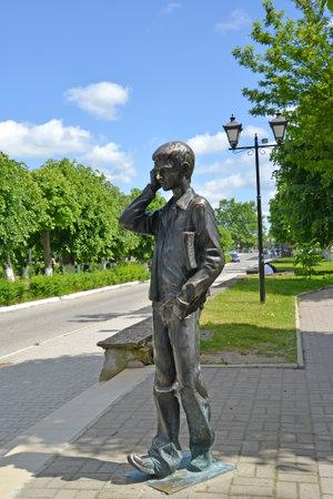 gusev: La scultura di Lyceum studente in Gusev