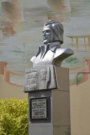 gusev: Monumento al poeta lituano Kristionas Donelaytis