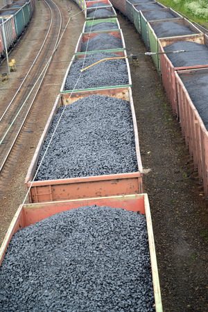 commodity: Transportation of coal in commodity cars