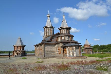 siervo: Holy Trinity Cathedral of the Trifonov-Pechengsky mans monastery. Murmansk region