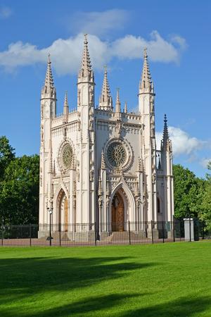 A Gothic chapel (Saint Alexander Nevskys church)