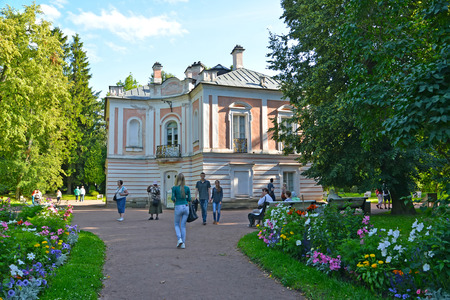 the eighteenth: ORANIENBAUM, RUSSIA - JULY 25, 2015: Palace of Peter III in the summer. Lomonosov Editorial