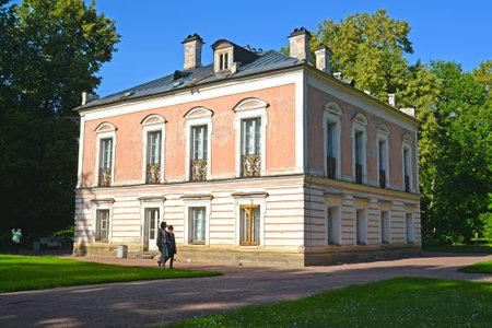 iii: ORANIENBAUM, RUSSIA - JULY 25, 2015: Palace of Peter III in a summer sunny day. Lomonosov