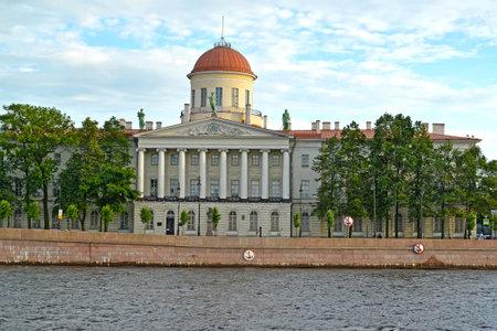 Institute of the Russian literature (Pushkin house). Makarov Embankment, 4, St. Petersburg