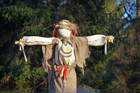 effigy: Effigy at the celebration of Maslenitsa