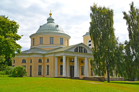nikolay: Saint Nicholass church of the Wonder-worker in the city of Kotka, Finland Stock Photo
