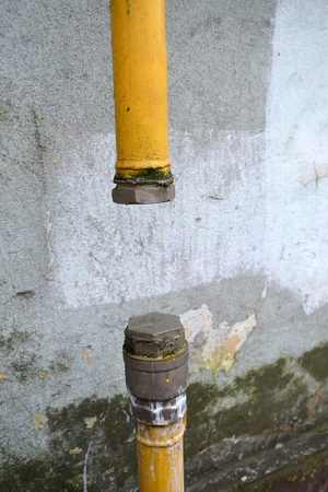 Cutoff of natural gas in an apartment house for failure to pay a debt by residents