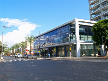 TEL AVIV, ISRAEL - OCTOBER 08, 2012: An urban view in summer day