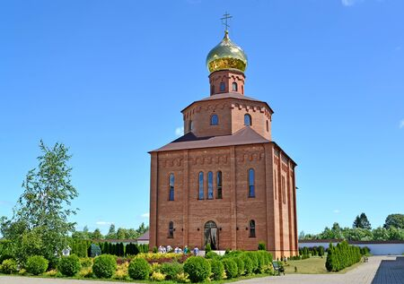 The temple in honor of the martyr Saint prepodobno Grand Duchess Elisaveta. Sacred and Elisavetinsky convent. Kaliningrad region