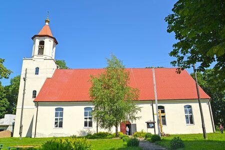 Temple of Saints of Equal Apostle Cyril and Methodius. Village of Bolshakovo, Kaliningrad region