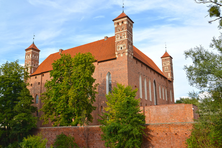 Bishop s Castle on Summer Day (14th century). Lidzbark-Varminsky, Poland Sajtókép