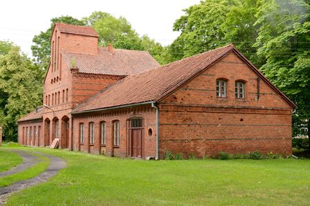 Administrative building of the church district of the Assumption of the Holy Virgin Mary. Frombork, Poland