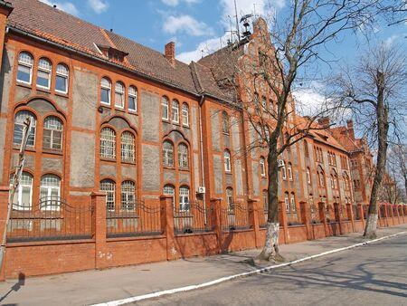 The headquarters of the naval base in Baltiysk. Kaliningrad region