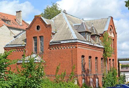 Brick houses of the pastor. Sovetsk, Kaliningrad region