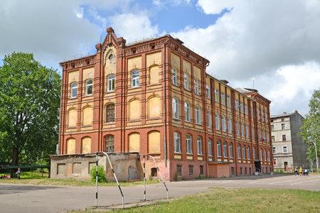 School building No. 4 (the former Meervish public school, 1893). Sovetsk, Kaliningrad region