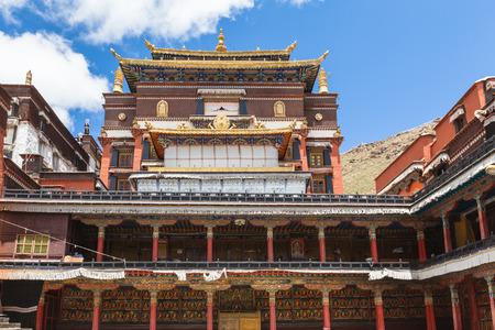 lamaism: Tashilhunpo Monastery in Shitatse, Tibet, China