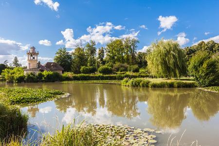 View of old hamlet of the Queen Marie-Antoinette photo