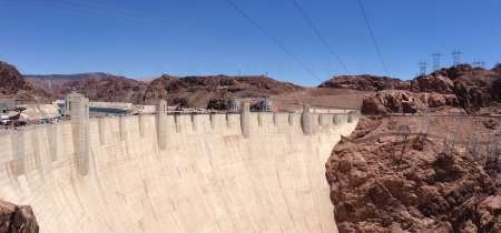 The Hoover Dam in Boulder City Nevada