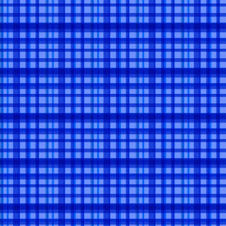 checked: Seamless blue checked pattern