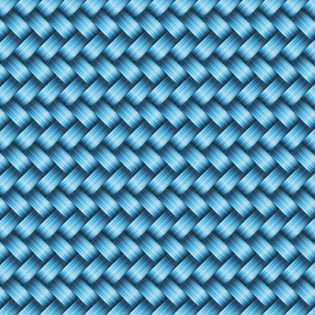 fibered: Seamless tiling wicker texture  Illustration