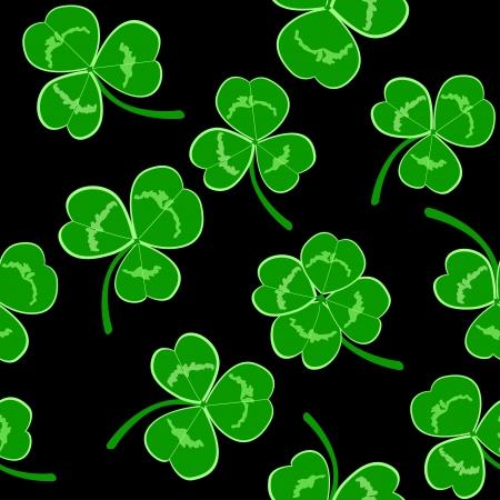 st  patrick's day: Seamless St Patrick s day background