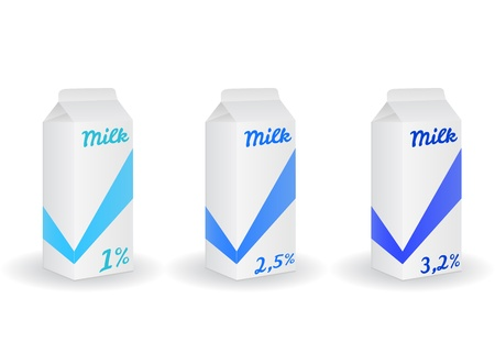 richness: Three  milk packing with differences richness