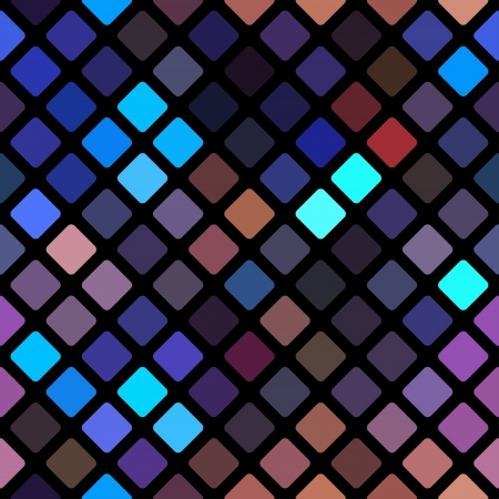 rhomb: Seamless abstract blue rhomb background