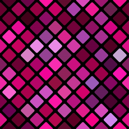 rhomb: Seamless abstract pink rhomb background Illustration