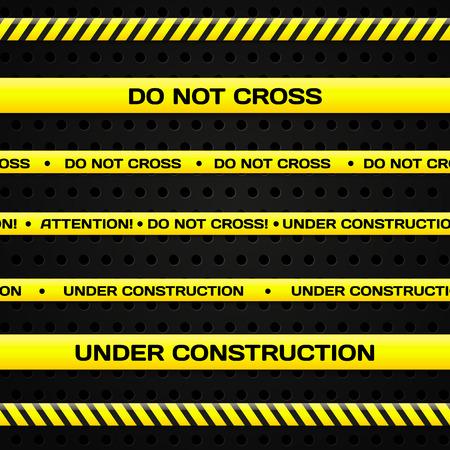 Under construction lines
