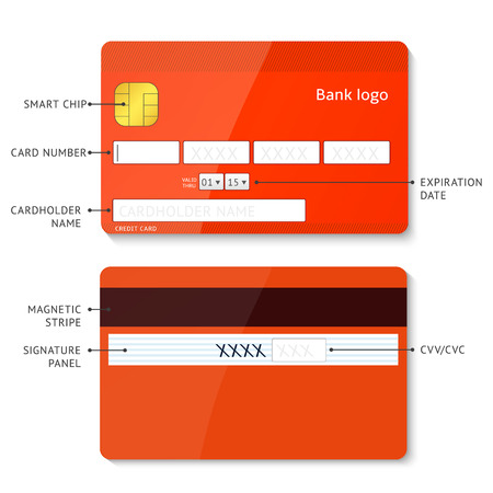 card payment: Credit card payment Illustration