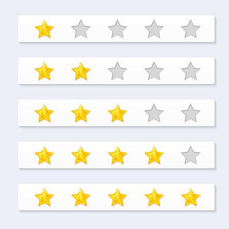 dimond: Rating Stars Illustration