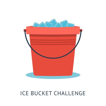 Concepto cubo de hielo Desafío