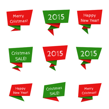 Holiday Sale vector elements Vector