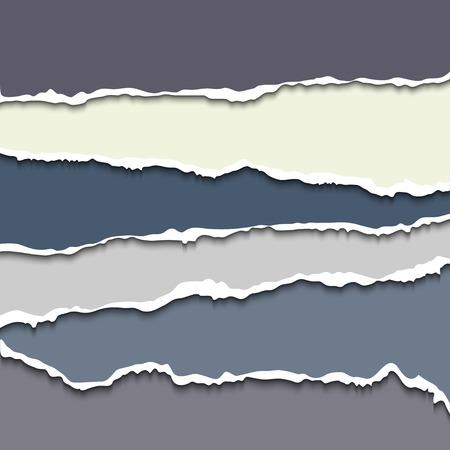 Papier déchiré Banque d'images - 34215223