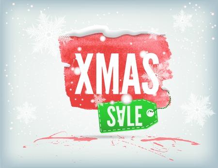 christmass: Christmass inky banner