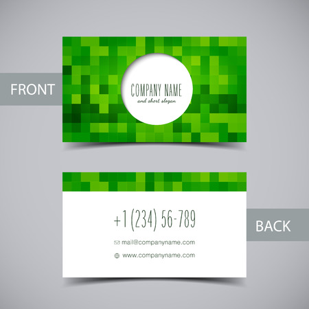 business abstract: Business card